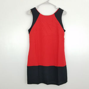 Naked Zebra Colorblock Sleeveless Dress
